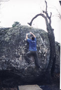 Rock Climbing Photo: Dr. Joel Torretti completing Chattanooga Plow on h...