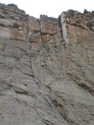 Rock Climbing Photo: P3 is the plumb LFD. P4 - variation is the sunlit,...