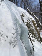 Rock Climbing Photo: The left flow on the Lower Measles Wall. This is t...