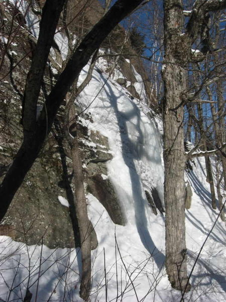 Rock Climbing Photo: The BAW Portal flow. The initial steep section is ...