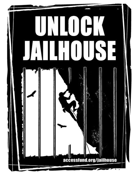 Unlock Jailhouse: Help the Access Fund keep Jailhouse open forever.