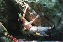 Rock Climbing Photo: Hunter's Rock spring 2006