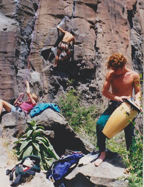 Rock Climbing Photo: Hard to believe it's been 15 years since this pic ...