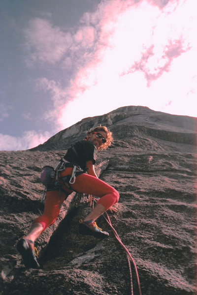 Rock Climbing Photo: Kristian Solem starting up the fabulous Prow of Co...