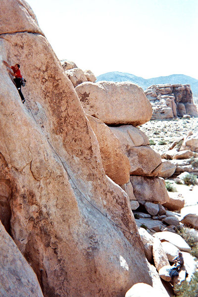 Rock Climbing Photo: I think this is Chalk up another one, 5.10 out at ...