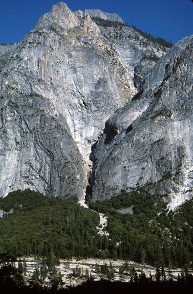 Rock Climbing Photo: Here is a view few have or will see, looking up in...