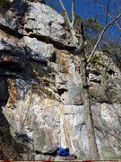 Rock Climbing Photo: Main Event. For reference: out of frame just uphil...