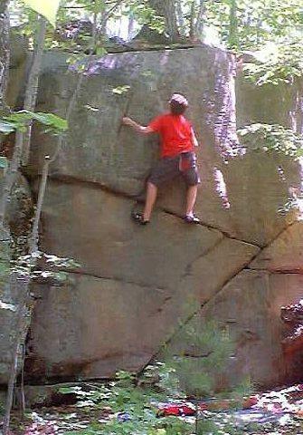 Rock Climbing Photo: The Pine Line.
