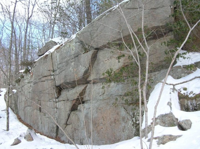 Rock Climbing Photo: Wall, Vertical 13'-35'
