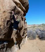 Rock Climbing Photo: Yay for good crimps!