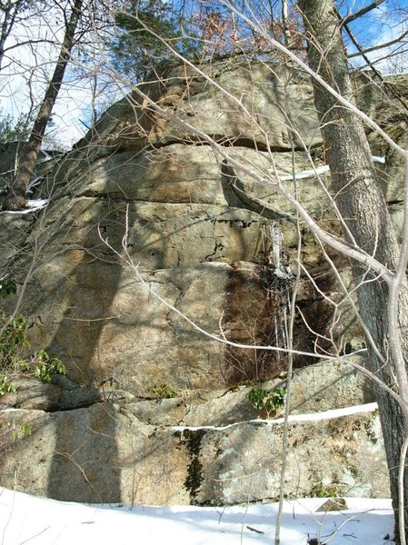 Rock Climbing Photo: 25 foot tall Wall where FTAT is