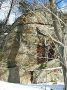 Rock Climbing Photo: 25 foot tall Wall where FTAT is