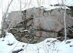 Rock Climbing Photo: Wall by Egg Boulder