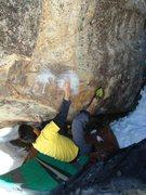 Rock Climbing Photo: Gary Carnes on Fleshwound.