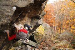 Rock Climbing Photo: Parallel Universe, Rumney
