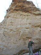 Rock Climbing Photo: Arkansas, horseshoe canyon ranch Trad 5.11.  Great...