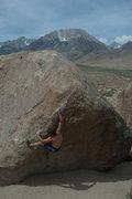 Rock Climbing Photo: Lance not really enjoying summer the summer heat i...