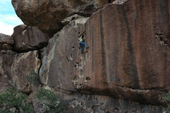 Rock Climbing Photo: Maysa cruising through huecos