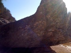 Rock Climbing Photo: Viewing the North/Northeastern side of the boulder...