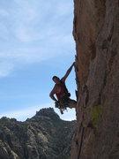 Rock Climbing Photo: A very popular route