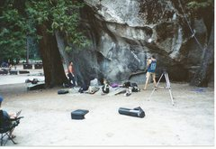 Rock Climbing Photo: I have climbed this many times in the past without...