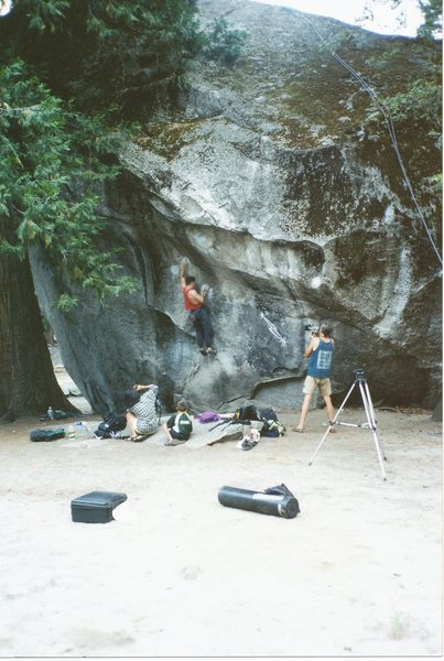 Rock Climbing Photo: I felt very strong and confident. A year before, I...