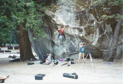 "Rock Climbing Photo: I nailed the ""Bolt Hold"" dead on and it ..."
