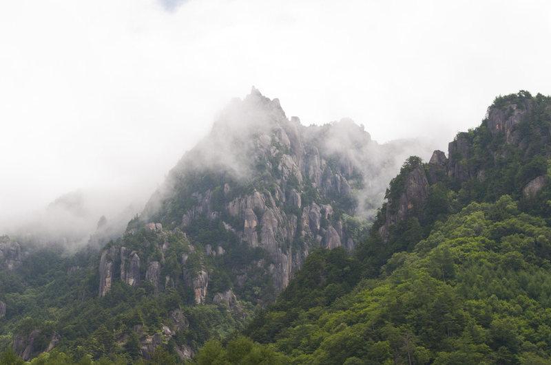 Rock Climbing Photo: Mizugaki
