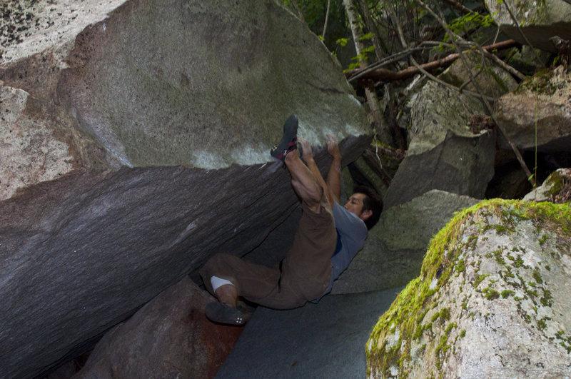 Rock Climbing Photo: Bear Paw Man, Jack Nakane
