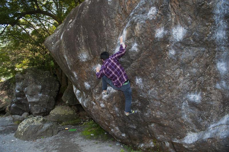 Rock Climbing Photo: Ninja boulder