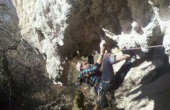 Rock Climbing Photo: Alan Weisman on Liposuction