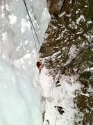 Rock Climbing Photo: Looking down Hully.