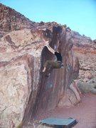Rock Climbing Photo: Across the Choss