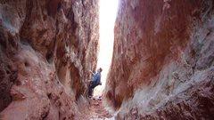 Rock Climbing Photo: The Corridor Traverse.