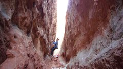 Rock Climbing Photo: The Corridor Traverse.