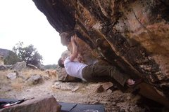 Rock Climbing Photo: The V8.