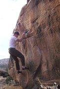 Rock Climbing Photo: The V0.