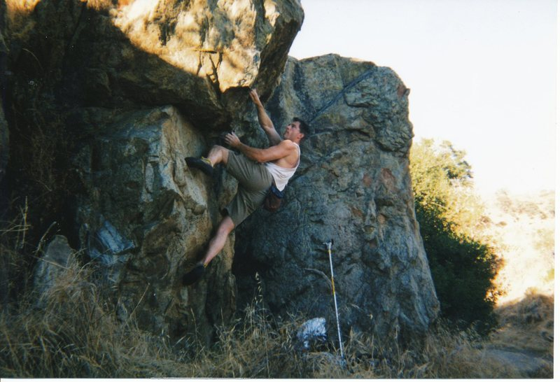 Rock Climbing Photo: Somewhat sequential opening moves.
