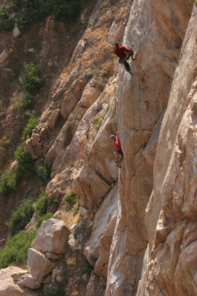 Rock Climbing Photo: Tail Tucker Arete