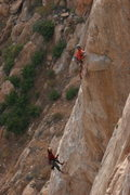 Rock Climbing Photo: Tail Tucker Arete pitch 3
