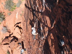 Rock Climbing Photo: Climbing on Panty Wall