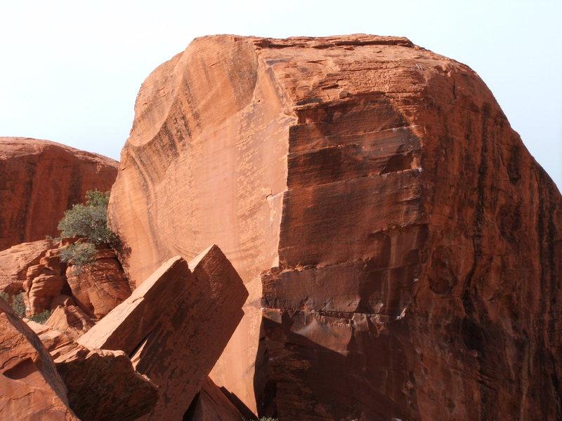 Rock Climbing Photo: a Hard corner climb