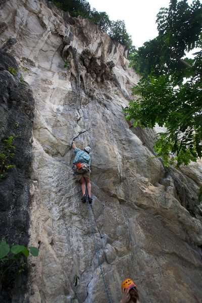 Rock Climbing Photo: I took a hand jam rest shortly after this.  Thats ...