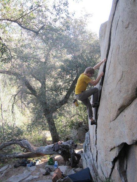 Rock Climbing Photo: Sunday afternoon...