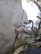 Rock Climbing Photo: Crack razor...sharp