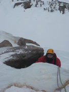Rock Climbing Photo: Martin is near the top of the first pitch on West ...