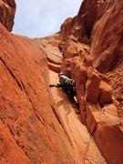 Rock Climbing Photo: Roman in the stembox