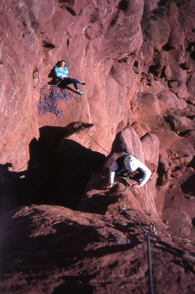 Rock Climbing Photo: a arts