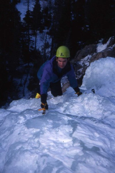 Rock Climbing Photo: Nate Beckwith in Boulder Canyon