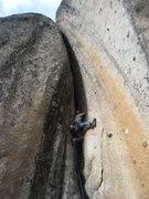 Rock Climbing Photo: Self Abuse